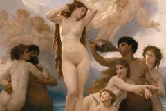 William-Adolphe Bouguereau : Naissance De Venus Birth Of Venus