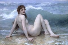 William Adolphe Bouguereau: La Vague The Wave