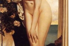 Lord Frederick Leighton: Venus Disrobing For The Bath
