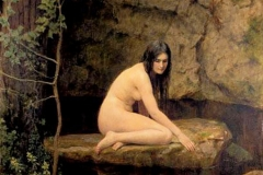 John Maler Collier: The Water Nymph